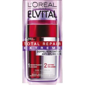 l oreal haarkur total repair extreme anti spliss doppel konzentrat 15ml. Black Bedroom Furniture Sets. Home Design Ideas