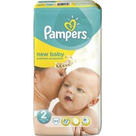 pampers new baby babywindeln gr 2 mini 3 6 kg 44 st ck. Black Bedroom Furniture Sets. Home Design Ideas