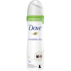 Dove Deo Spray invisible dry compressed